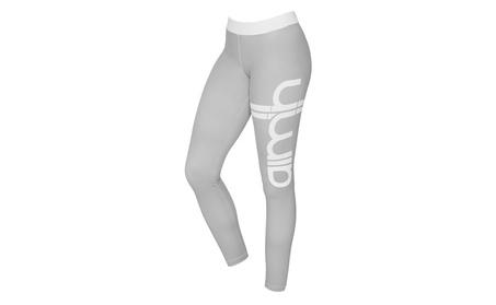 Women's Fold Over Waist Yoga Pants Flare Leg Workout Leggings 90d2b53b-05bc-4efa-92c7-8c1e79363544