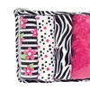 Trend Lab Gift Set - Zahara Zipper Pouch And 4 Burp Cloths