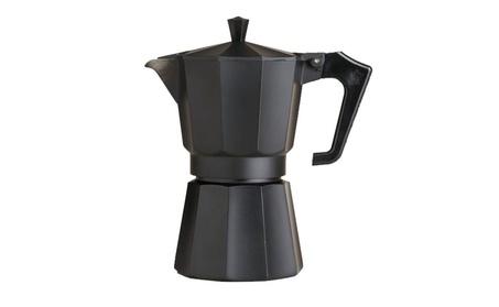 3 Cup Black Coffeee Maker Espresso Maker photo