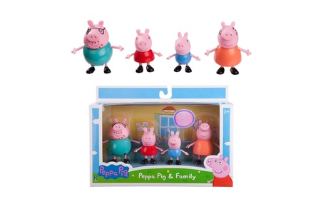 Peppa Pig & Family Action Figure Pack George Mummy Daddy Oink Mud Play b17ea76d-20c3-4cd3-9bf7-389c00f50777