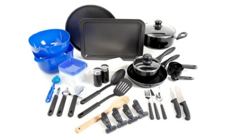 Gibson 91923.59 Gh 59pc Cookware Combo Set photo