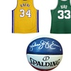 NBA and NCAA Autographed Memorabilia