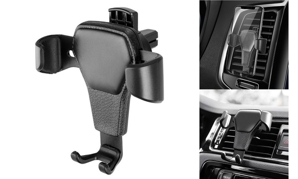 LEAF Universal Swivel Car Vent Mount for iPhone//GPS//MP3