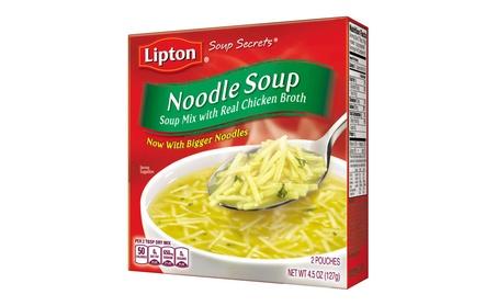 Lipton Soup Secrets Instant Soup Mix, Noodle 4.5 oz, Pack of 12 e0aa331e-6464-4d51-80f7-f41e91acd3bc