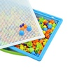 Children Kids Early Education Toys Creative Peg Board with 296 Pegs