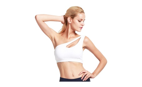 One Shoulder Sports Bra Workout Yoga Sexy Bra ea90e6d4-2e07-4e1a-9f50-0b8e754716ad