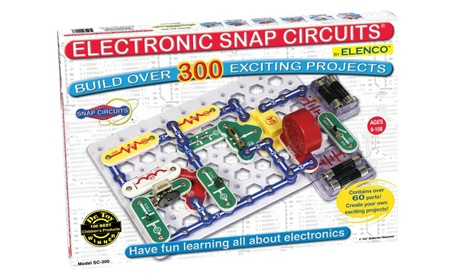 Snap Circuits SC-300 Electronics Discovery Kit 6d404745-6301-4a2f-bfb5-23526bb50809