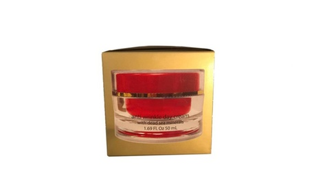 For All Skin Types Anti Aging Day Cream with Dead Sea Minerals