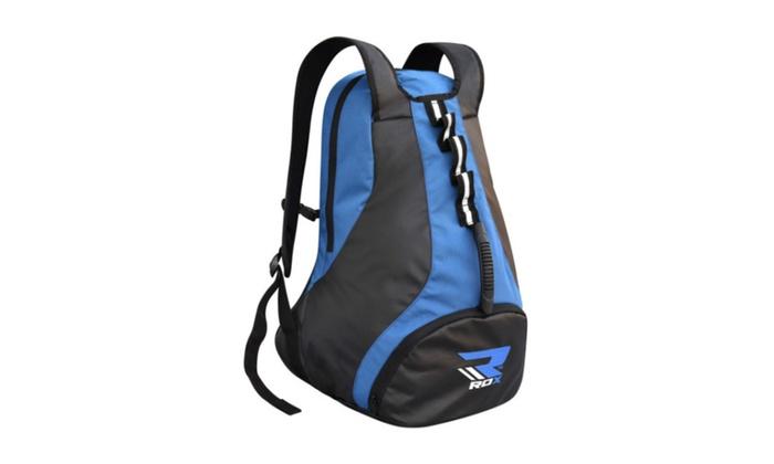 Sports Kit Bag Backpack Rdx Gym Duffle Fitness Training Travel Mma Box