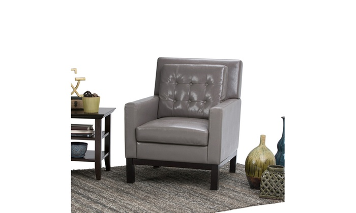 Carrigan Bonded Leather Club Chair ...
