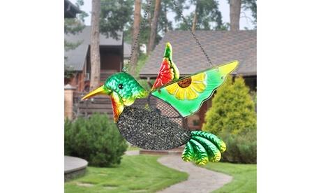 Exhart Bird Feeder With Metal Mesh Seed Basket (Goods For The Home Patio & Garden Bird Feeders & Food) photo