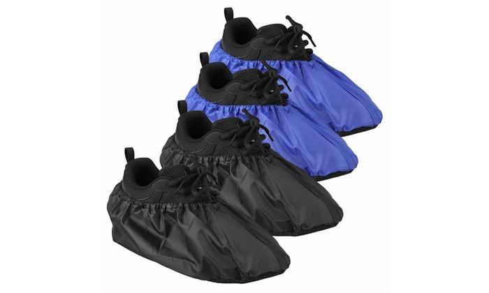 Unisex Waterproof Rain Snow Shoe Covers Anti-slip Boots Overshoes Shoes Reusable