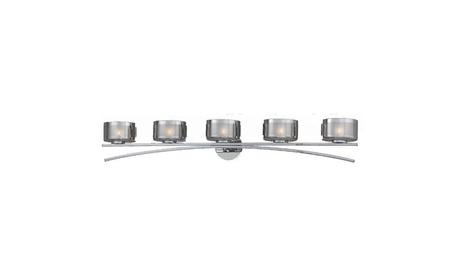 Gianna Collection 5-Light Chrome Plated Bath Vanity eaaa891b-9bb7-4ff6-bf73-550ea40e2507