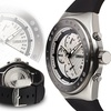 Force One Venture Chronograph Mens Watch Black/Silver/White