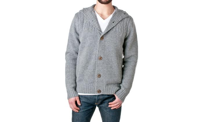Jordan Craig Mens Wool Blend Two-Pocket Cardigan, 39223