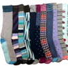 12 Pairs of Sockbin Mens Dress Socks, Colorful Patterned Fashion