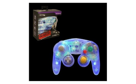 Retrolink Wired Gamecube Style Usb Controller For Pc Mac Blue Led 7c0b091b-cd4d-4ffa-89aa-1a495e6287ba
