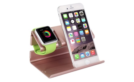 Charging Dock Station for Apple Watch and iPhone 955e7284-8e7a-440d-b600-2925c1f0cc2d