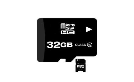 2-Pack 32GB Micro SDHC Memory Cards