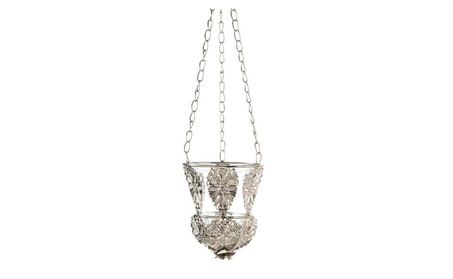 Elegant Floral Hanging Candle Lamp 3ae904ea-9122-4003-bf72-c6802d0c2ea0