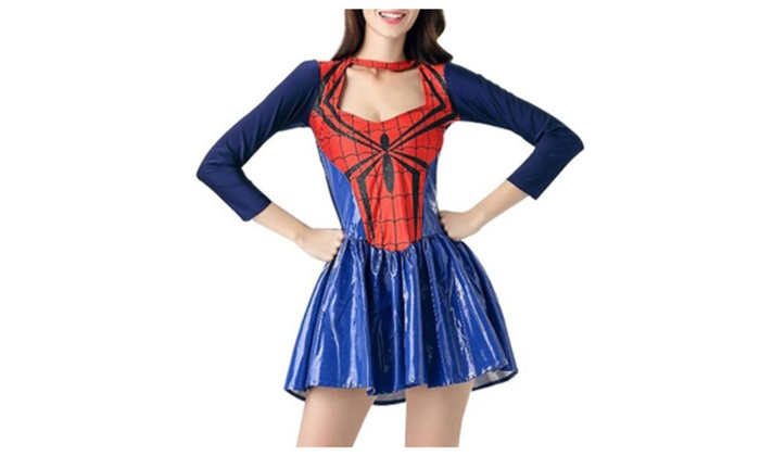 Women's/Ladies Long Sleeve Slim Fit Casual Cosplay Costume - Blue / One Size