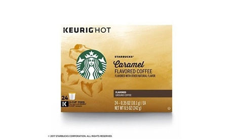 Starbucks Caramel Flavored Single Cup Coffee for Keurig Brewers 96 Total K-Cups c888767a-0f44-4588-8c79-a3ecd3dac873