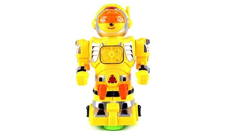 Star Show Robot Battery Operated Bump and Robot Figure (Colors May Vary) 1aec4450-ff42-4304-92a4-ab68b55065d4