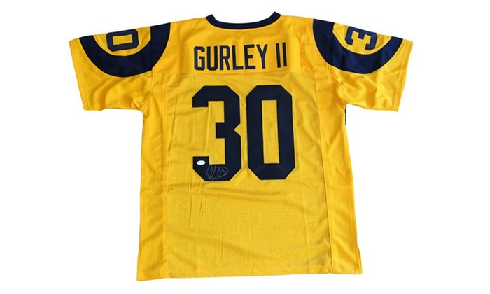 Autographed Todd Gurley Custom Jersey