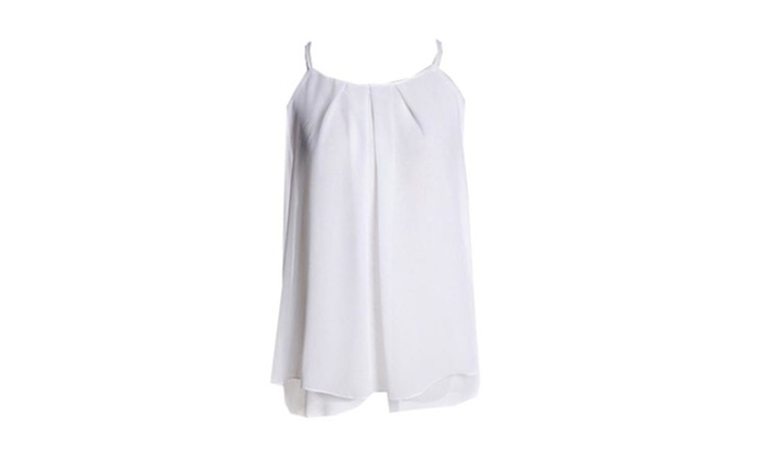 Women's Casual Chiffon Tank Tops