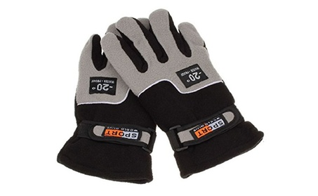 Polar Fleece Thermal Motorcycle Ski Snow Snowboard Gloves 6c89218e-ee13-4ea4-84da-13a3099bc8b2