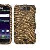 Insten Tiger Skin Camel Brown Case for LG MS840 Connect LS840 Viper