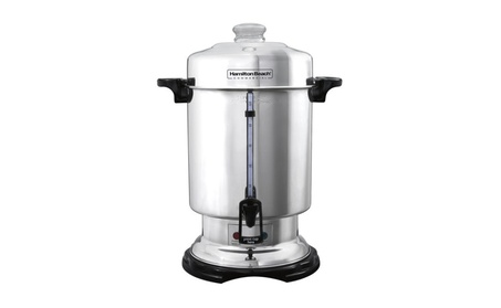 Hamilton Beach Commercial 60-Cup Stainless-Steel Coffee Urn, Silver f12fd048-18b7-421a-b24e-b0f39fa77cd4