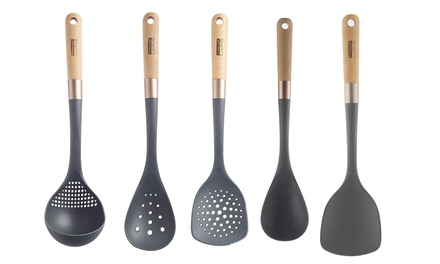 Typhoon Living Premium Kitchen Utensils W/ Beechwood Handle