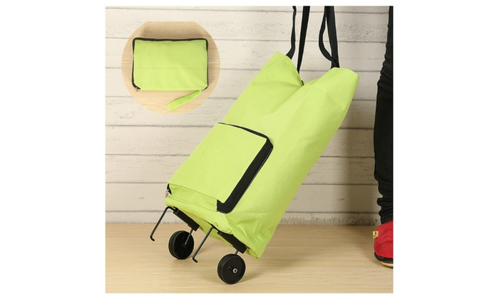 Foldable Trolley Bag Portable Carrying Bag Handy Bag
