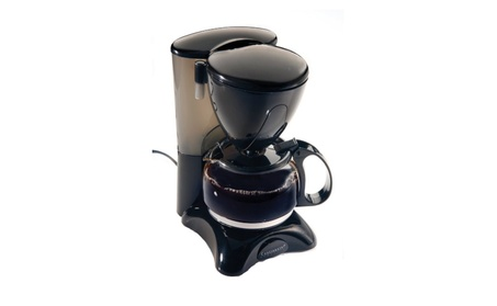 Continental Electric Ce23659 4 Cup Coffee Black- Ce23589 684eafaf-a3d1-4bed-b1c4-38aa49de1074