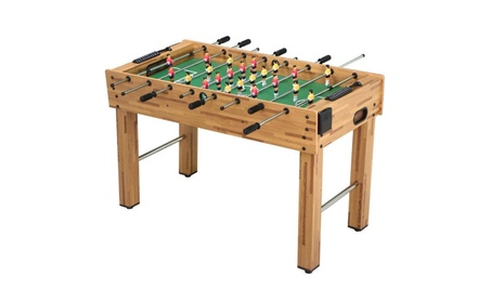 Topeakmart Foosball Table Triumph Sports Soccer Table 48-Inch 8f84b1f1-d501-4aed-9945-6733ca76fa70