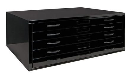 "Studio Designs Home Office Flat File 46"" Cabinet - Black"