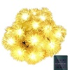 Chuzzle Ball Solar String Lights - Christmas Lights
