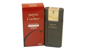 Santos De Cartier For Men By Cartier Eau De Toilette Concentree 3.3 oz