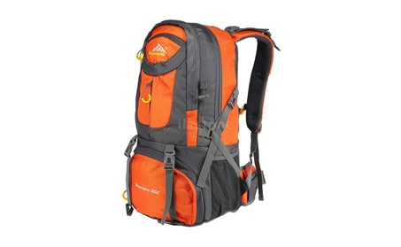 New 50L Sports Backpack Hiking Trekking Travel Bag Knapsack Men Women 41ce0ff8-0d45-4966-b5e0-a0c97817f896
