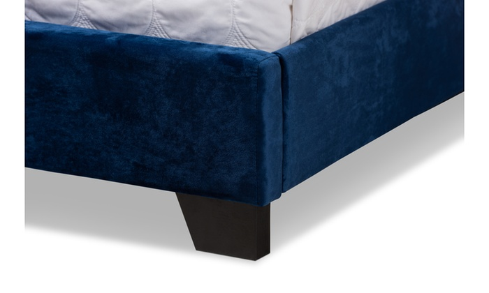 Remarkable Candace Chesterfield Hollywood Glamour Platform Bed Groupon Lamtechconsult Wood Chair Design Ideas Lamtechconsultcom