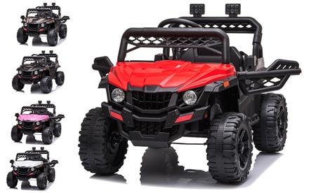 Kids Ride on Cars, 12V Power 4 Wheels Kids Electric Cars for Boys Girls Gift