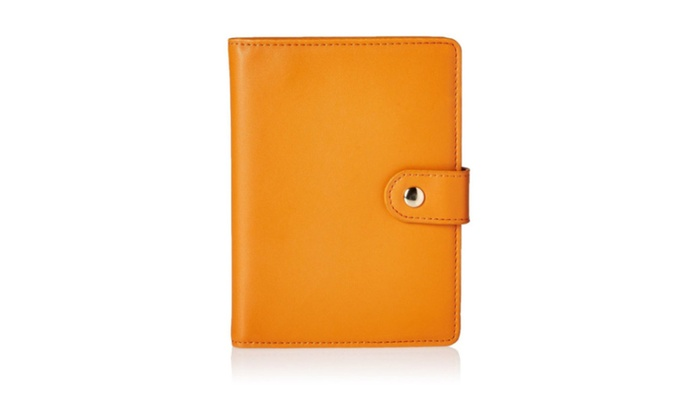 New Leather Holder & Travel Wallet Id Card Case Cover