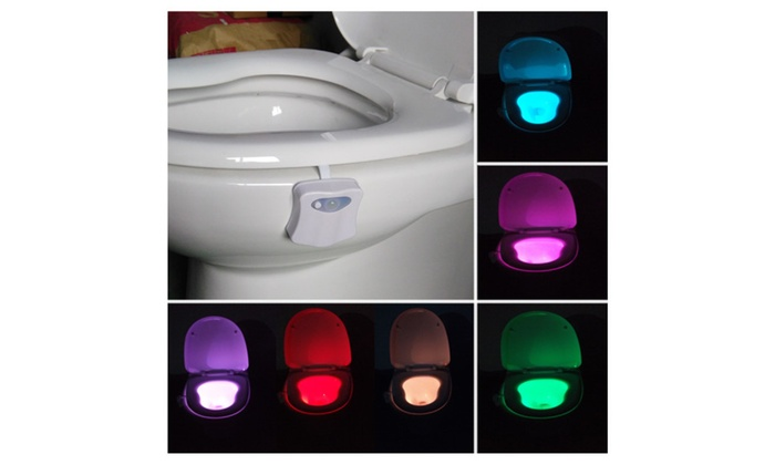 Toilet Bowl LED Motion-Activated Light