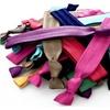 Briefly Premium New Rainbow Ribbon No Damage Hair Ties (60-Pack)