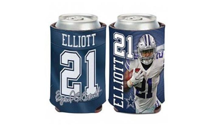 Dallas Cowboys Ezekiel Elliott Can Cooler