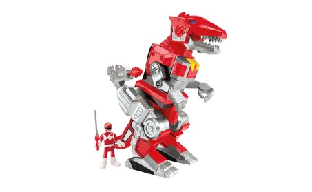 Fisher-Price Imaginext Power Rangers Red Ranger And T-Rex Zord a3653d1f-d0bd-4408-ad17-27e24307b1a5