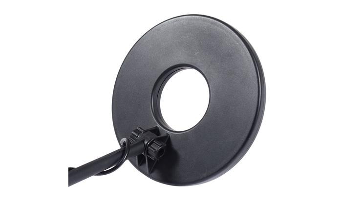 LCD Disc Precious Metal Detector Kit Waterproof Coil Arm Rest /& Portable Shovel