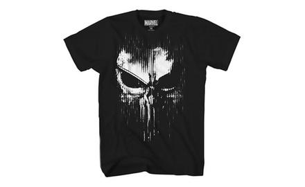 197362c3b Marvel The Punisher Dirty Skull Vest Logo Adult T-Shirt