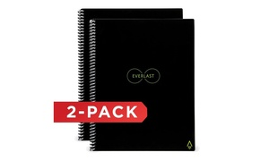 Rocketbook Everlast Reusable Smart Notebook with Pen Station (2-Pack)